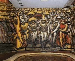 The Revolution (mural) — Давид Альфаро Сикейрос