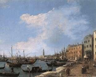 The Riva degli Schiavoni — Каналетто