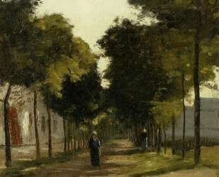 The road — Камиль Писсарро