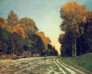 Дорога из Шайи в лесу Фонтенбло — Клод Моне