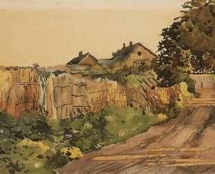 Дорога на даче — Константин Сомов