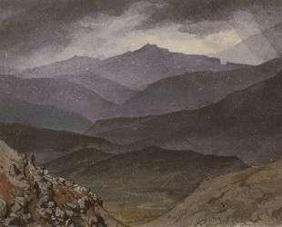 Дорога в Синано после грозы — Карл Брюллов