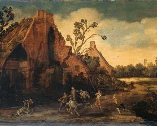 The robbery — Эсайас ван де Вельде