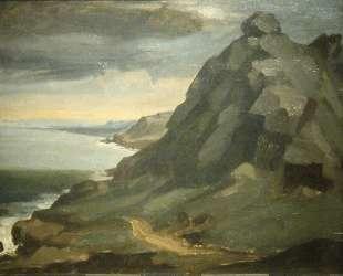 Скала в Кастель-Вендон — Жан-Франсуа Милле