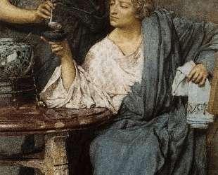 Римские дегустаторы вина — Лоуренс Альма-Тадема