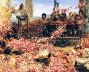 Розы Гелиогабала — Лоуренс Альма-Тадема