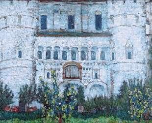 The Rostov's Kremlin Gates — Константин Юон