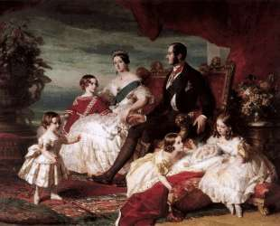 The Royal Family in 1846 — Франц Ксавер Винтерхальтер