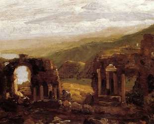The Ruins of Taormina — Томас Коул