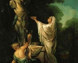 The Sacrifice to Priapus — Франсиско де Гойя