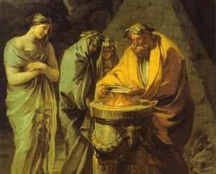 The Sacrifice to Vesta — Франсиско де Гойя