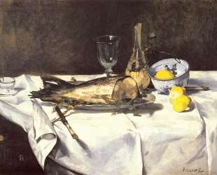 The salmon — Эдуард Мане