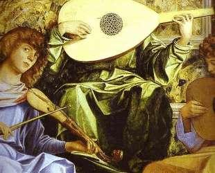Алтарь Сан Джоббе (деталь с музицирующим ангелом) — Джованни Беллини