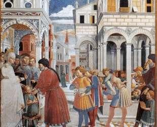 The School of Tagaste — Беноццо Гоццоли
