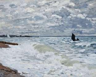 Море в Сент-Адресе — Клод Моне