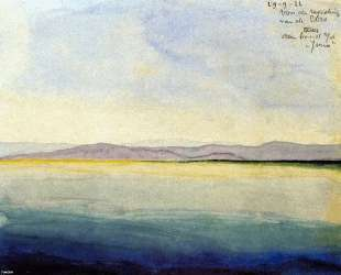 The Sea at the Mouth of the Ebro — Мауриц Корнелис Эшер
