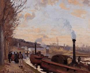 The Seine at Port Marly — Камиль Писсарро