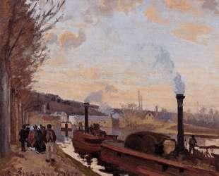 The Seine at Port Marly — Камиль Писсарро