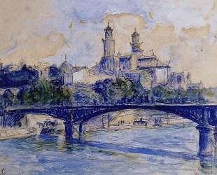 The Seine by the Trocadero — Анри Эдмон Кросс