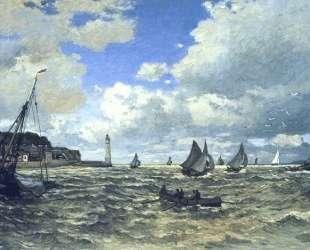 Устье Сены в Онфлёре — Клод Моне