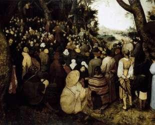 Иоанн Креститель проповедует перед народом — Питер Брейгель Старший