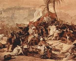 The seventh crusade against Jerusalem — Франческо Хайес
