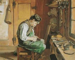 The shoemaker — Фердинанд Ходлер