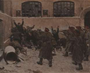 The shooting in Presnya in December 1905 — Иван Владимиров