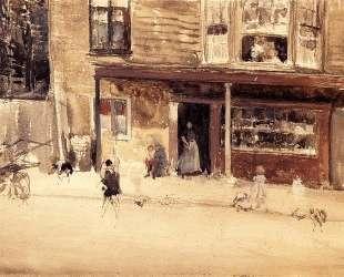 The Shop — An Exterior — Джеймс Эббот Макнил Уистлер