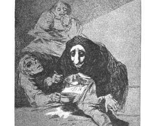 The shy man — Франсиско де Гойя