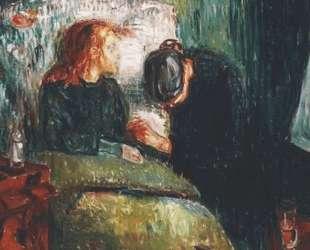 Больной ребенок — Эдвард Мунк