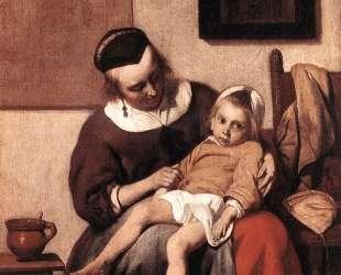 The Sick Child — Габриель Метсю