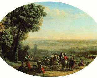 The Siege of La Rochelle by Louis XIII — Клод Лоррен