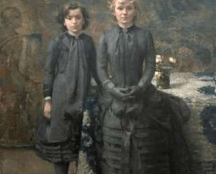 The Sisters of the Painter Schlobach — Тео ван Рейссельберге