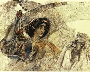 The Six Winged Seraph — Михаил Врубель
