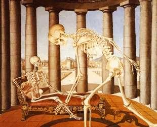 Скелет с раковиной — Поль Дельво