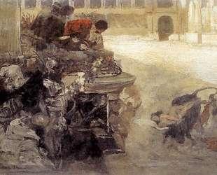 The Sketch of Christian Dirce — Генрих Семирадский