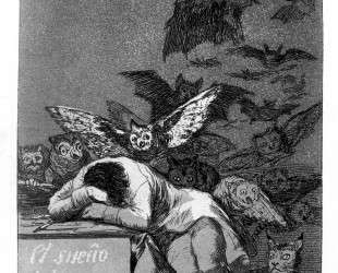 The sleep of reason produces monsters — Франсиско де Гойя