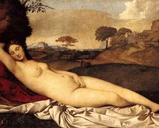 Спящая Венера — Джорджоне