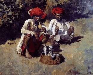The Snake Charmers, Bombay — Эдвин Лорд Уикс