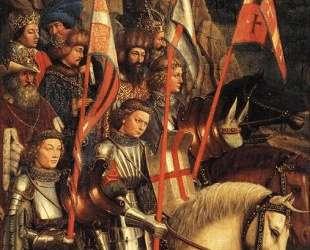 Христово воинство — Ян ван Эйк