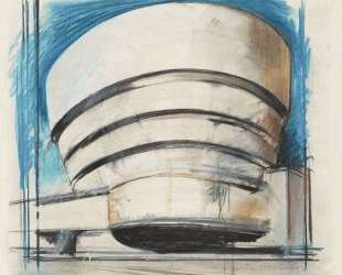 The Solomon R. Guggenheim — Architect's visual — Ричард Гамильтон