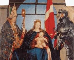 The Solothurn Madonna — Ганс Гольбейн Младший