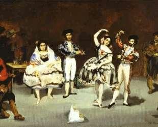 The spanish ballet — Эдуард Мане