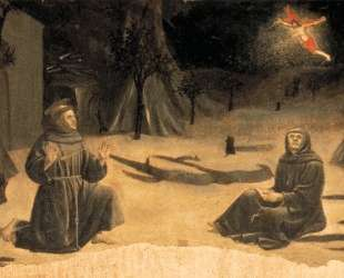 Стигматизация Св. Франциска — Пьеро делла Франческа