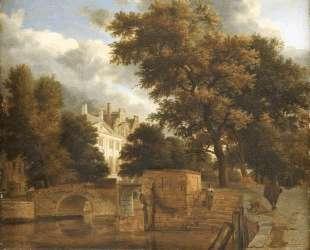 The stone bridge — Адриан ван де Вельде