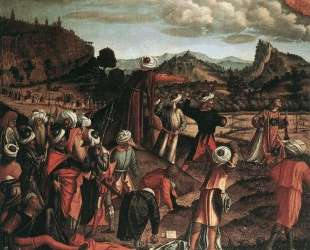 The Stoning of St. Stephen — Витторе Карпаччо