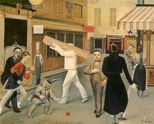 The street — Бальтюс