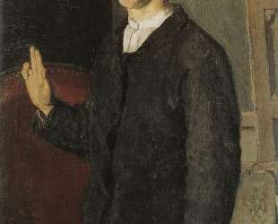The student (Self-portrait) — Фердинанд Ходлер