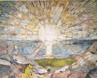 Солнце — Эдвард Мунк